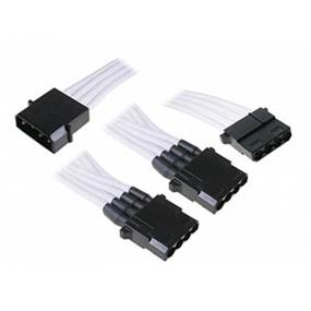 BitFenix Molex to 3 Molex Extension 60cm White (BFA-MSC-M3MWK-RP)