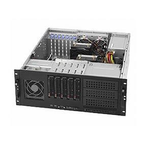 Supermicro SuperServer 6046T-TUF (Barebone) - 4U - Dual LGA1366 - 12 x DDR3 DIMM - 6 x SATA 3.0 Gbps - 2 x GLAN - 865W (1+1) PSU