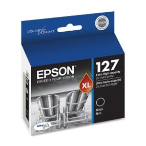 Epson 127 XL Black Ink Cartridge (T127120-S)