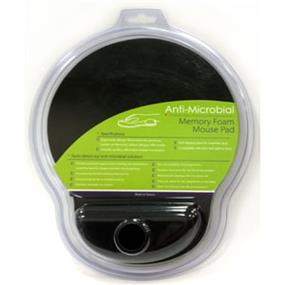 iCAN Anti-microbial Memory Foam Pad - black