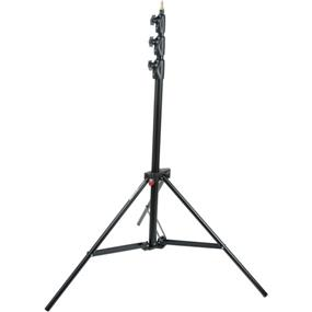 Manfrotto 1004BAC - Aluminum Air Cushioned Master 3 Riser 12' AC Stand (Black) Manfrotto Aluminum Air Cushioned Master Stand Black For Lighting