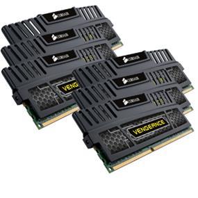 Corsair Vengeance 24GB (6x4GB) DDR3 1600MHz CL9 DIMMs (CMZ24GX3M6A1600C9)