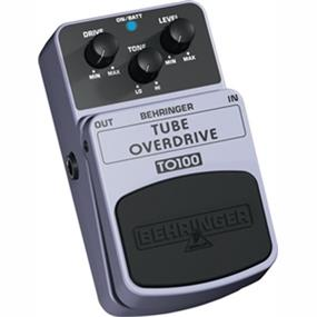 Behringer TUBE OVERDRIVE TO100 - Authentic Tube-Sound Overdrive Effects Pedal