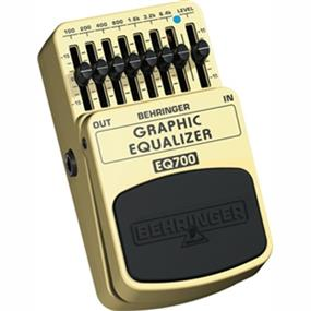 Behringer GRAPHIC EQUALIZER EQ700 - Ultimate 7-Band Graphic Equalizer