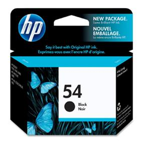HP #54 Black Ink Cartridge (CB334AC#140)