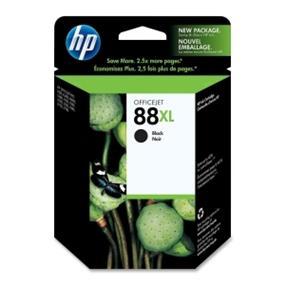 HP 88XL Black High Yield Original Ink Cartridge (C9396AN)