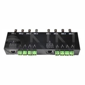 Vonnic A2808 8x BNC to 2x RJ45 Video Converter (Metal)
