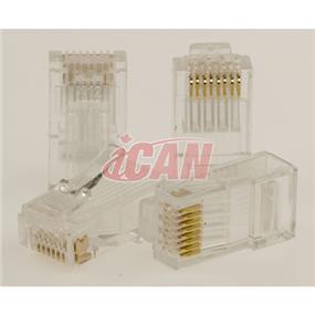 iCAN Cat 6 Termination Plugs 100 pcs (CON STC6E-51H)