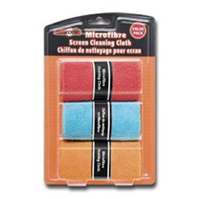 Emzone Microfibre Screen Cleaning Cloth Value (3) Pack