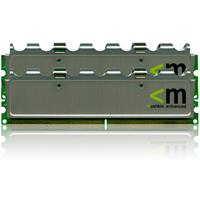 Mushkin Silverline 2GB (2x1GB) DDR2 800MHz CL5 DIMMs (996758)