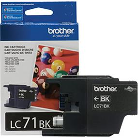Brother LC-71 Black Ink Cartridge (LC71BK)