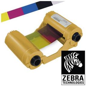 Zebra Card YMCKO 5 PANEL COLOR RIBBON FOR P110i & P120i - 200 Images
