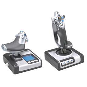 Logitech Saitek X-52 Pro flight hotas control system (945-000022)