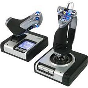 Logitech G Saitek X52 Flight System w Joystick & Throttle (945-000025)