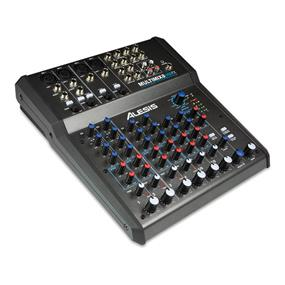 Alesis MultiMix 8 USB FX - 8 Channel Mixer with Effects and USB Interface (Open Box)