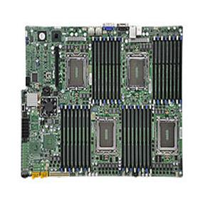 Supermicro H8QGi+-F Motherboard Quad 1944-pin Socket G34 Support up to 512GB DDR3 Reg. ECC 1600/1333/1066 MHz Memory or 128GB of DDR3 Unb. ECC/non-ECC Memory, Matrox G200 16MB DDR2 Graphics