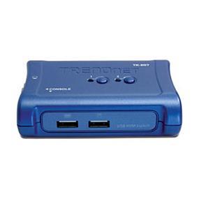 TRENDnet TK-207K, 2-Port USB KVM Switch Kit
