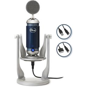 Blue Spark Digital - USB Condenser Microphone w/ iPad connections