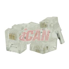 iCAN RJ11 Plugs(CON RJ11C3-01)