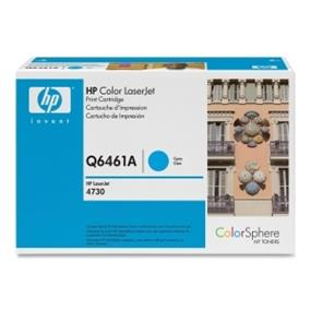 HP 644A (Q6461A) Cyan Original LaserJet Toner Cartridge