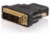 Cables To Go Velocity DVI-D Male to HDMI Female Inline Adapter (40746)