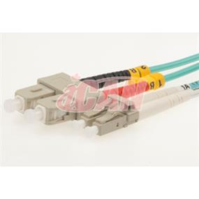 iCAN LC-SC, MULTI-MODE, DUPLEX  10G 50/125 - 10m OM3 (FP5-10-LCSC-010)