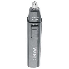 Wahl 5567-500 Wet & Dry Cordless Ear , Nose and Brow Trimmer with Stainless Steel Blades - Black (5567-500)