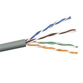 Belkin CAT5e Solid Bulk Cable * 4PR;24AWG - 1000' (Black) (A7L504-1000-BLK)