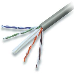 Belkin CAT6 Solid Bulk Cable * 4PR;24AWG;PLNM - 1000' (White) (A7L704-1000WH-P)