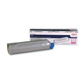 Okidata 44059110 C14 Magenta Toner Cartridge - Magenta - LED - 8000 Page