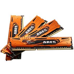G.SKILL Ares Series 32GB (4x8GB) DDR3 1600MHz CL10 Quad Channel Kit (F3-1600C10Q-32GAO)