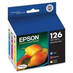Epson 126 XL Tri-Color Ink Cartridges (T126520)