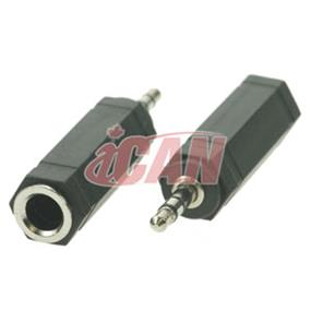 "iCAN 3.5mm Stereo Plug to 1/4"" Stereo Jack (ADP AC35M1/4F)"