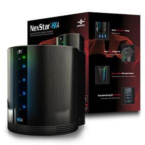 """Vantec NexStar HX4 Vantec (NST-640SU3-BK) Quad 3.5"""" SATA to USB 3.0 & eSATA External Hard Drive Enclosure w/ Fan"""