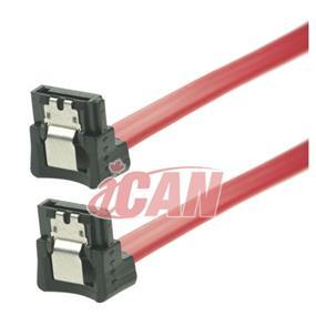 "iCAN SATA 3 6GB/s Data Cable Right-Right Angle - 18"" (SATA3-6G-18RR)"