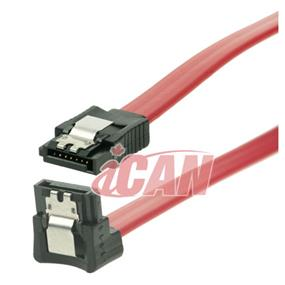 "iCAN SATA 3 6GB/s Data Cable Straight-Right Angle - 18"" (SATA3-6G-18RS)"