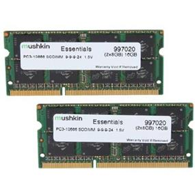 Mushkin Essentials 16GB (2x8GB) DDR3 1333MHz CL9 SODIMMs (997020)