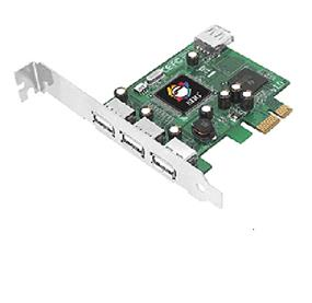 SIIG DP Hi-Speed USB 4-Port PCIe (JU-P40112-S1)