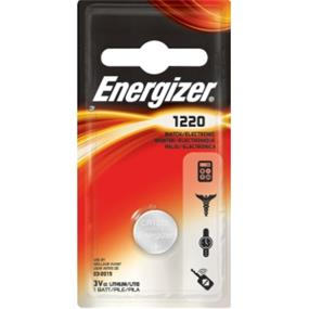 Energizer (ECR1220BP) CR1220 3V Coin Battery
