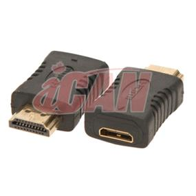 iCAN HDMI Male to Mini HDMI female Gold-plated Adapter (ADP HDM-MHDMIF)