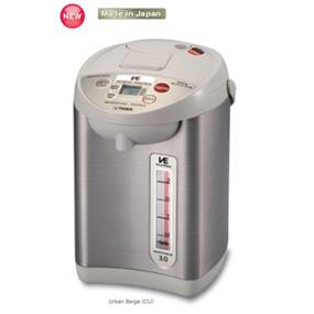 Tiger PVW-B30U 2.9 Litre Electric Hot Water Dispenser / Heater - Stainless Steel (PVW-B30U)