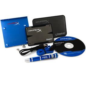 "Kingston HyperX 3K 120GB 2.5"" SATA 6Gb/s Solid State Drive (SSD) Upgrade Bundle Kit, Read: 555Mb/s Write: 510MB/s (SH103S3B/120G)"