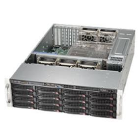 Supermicro Case 3U 920W 80PLUS 16x3.5inch SAS Black Retail (CSE-836BA-R920B)