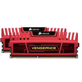 Corsair Vengeance Red 16GB (2x8GB) DDR3 1866MHz CL10 DIMMs (CMZ16GX3M2A1866C10R)