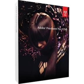 Adobe Premiere Pro CS6 v.6.0 64-bit - Complete Product - 1 User - Video Editing - Standard Retail - DVD-ROM - PC - Universal English