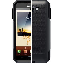 OtterBox Samsung Galaxy Note Otterbox Black/Black Commuter case