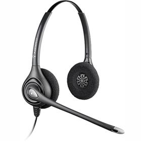 Plantronics HW261N Noise-Canceling Binaural PC Office Headset (64339-31)