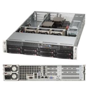 Supermicro System (SYS-6027R-N3RF) 2U Intel Xeon E5-2600 512GB DDR3 740W Rendunt Power Supply 80PLUS PLATINUM Retail