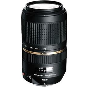 Tamron 70-300mm F/4-5.6 Di VC USD SP Lens for Canon
