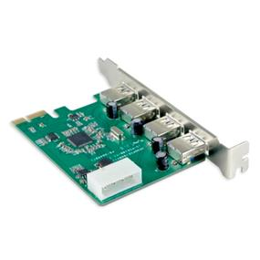 SYBA USB 3.0 4-Port PCI-Express Controller Card - Etron Chipset (SY-PEX20136)